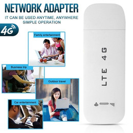3g routers Australia - 4G WiFi Router 100Mbps USB Modem Broadband Mobile Hotspot LTE 3G 4G Unlock Dongle with SIM Slot Stick Date Card