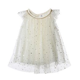 $enCountryForm.capitalKeyWord Australia - New Princess Dress Summer New Toddler Kids Baby Girl Tutu Tulle Sequin Star Formal Pageant Chiffon Party Dresses