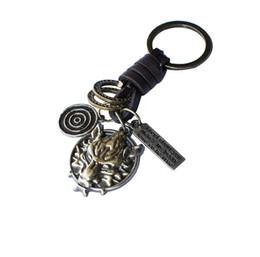 Chinese  Alloy Wolf Head Hanger Designer Birthday Gifts Keychain Fashion Creative Key Ring Designer Car Keychains Accessories Valentine's Gifts manufacturers