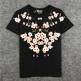 Trends Clothing Australia - 2019 latest best Quality Clove printing from Milan Summer clothes Short sleeved Fashion Trend JOKER T-SHIRTS TOPS