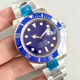 StainleSS Steel Sub online shopping - Casual mm Sapphire Glass Hulk green anniversary Ceramic bezel limited SUB Stainless Glide lock automatic mechanical Mens Watch