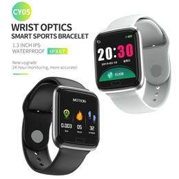 Q8 Smart Watch Australia - CY05 Smart Watch Bracelet With Heart rate Monitor Blood Pressure IP67 Fitness Tracker Wrisatband Smart Watch Women Men PK q3 q8