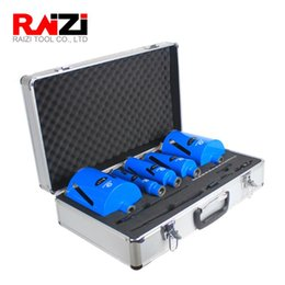 diamond bit sets UK - Raizi Laser Welded M16 Diamond Core Drill Bit set For Concrete Wall Tap Water Heater Air Condition Concrete Drilling Bits