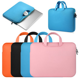 $enCountryForm.capitalKeyWord Australia - Colorful Soft Laptop Sleeve 11 12 13 14 15 15.6 Inch Laptop Bag Case for Macbook Pro Retina 15 Notebook Bags Dropshipping