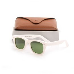 $enCountryForm.capitalKeyWord UK - Hot sales Brand Designer glass Lens Green Lens Sunglasses Plank white Sunglasses High Quality sunglasses New Sun glasses with brown cases