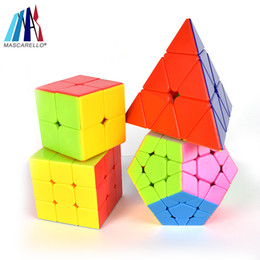 $enCountryForm.capitalKeyWord Australia - speed Cube Bundle Magic Cube Set, Stickerless Speed Cube Brain Teaser Puzzle Toys for Kids Adults with Gift Box (4 Pack)