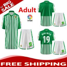 c6b6a3bbc Top 2019 2020 Limited Edition Real Betis Adult kit soccer Jersey 19 20  JOAQUIN HULIO MANDI BARTA TELLO INUI football shirts