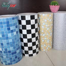 $enCountryForm.capitalKeyWord Australia - 5M  10M New Bathroom Tiles Waterproof Wall Sticker Vinyl PVC Mosaic Self adhesive Anti Oil Stickers DIY Wallpapers Home Decor