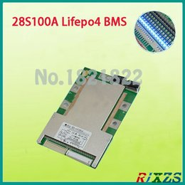 computer bikes NZ - Freeshipping 28S 100A bms Lifepo4 large high current lifepo4 BMS PCM for electric bike electric car 100a bms