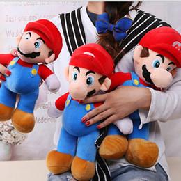 "Good Video NZ - 2 Style 10"" 25CM MARIO & LUIGI Super Mario Bros Plush Doll Stuffed Toys For Baby Good Gifts"
