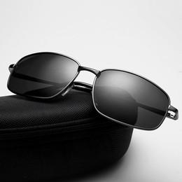 $enCountryForm.capitalKeyWord Australia - Mens Vintage Polarized Sunglasses Women Classic Square Driver's Eyewear Metal Sun glasses Shades UV400 gafas de sol hombre UV400