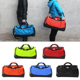 Small Hand Luggage Bags Australia - Lightweight anti-theft lock shoe library sports basketball yoga gym bag - small capacity hand luggage bag travel for women