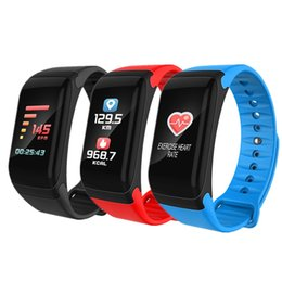 f1 band UK - Smart Band F1 PLUS Blood Oxygen Blood Pressure Watches Waterproof Fitness Bracelet Heart Rate Monitor Call SMS Reminder Smart Watch