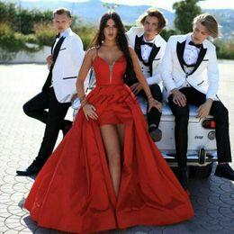 $enCountryForm.capitalKeyWord Australia - Custom Made White Men Suits for Wedding Groomsmen Outfit Man Blazer 3Piece Slim Fit Male Jacket Trousers Terno Masculino Costume Homme