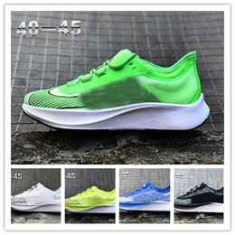 camel flat Australia - designer men women Zoom Fly Three 3 Running Shoes Zapatillas Hombre Breatheable lunar 38 Jogging Sneakers Vaporfly Sport Trainers 36-45
