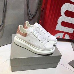 3867b4333c0 Barato En Venta Para Mujer Para Hombre Zapatos Deportivos Plataforma de  Lujo Zapatilla de deporte Plana Zapatos Casuales Dama Negro Rosa Oro Tenis  Tenis ...