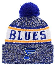 4e2e4b9e1e1 Blues Beanie Sideline Cold Weather Graphite Official Revers Sport Knit Hat  All Teams winter Warm Knitted Wool Skull Cap