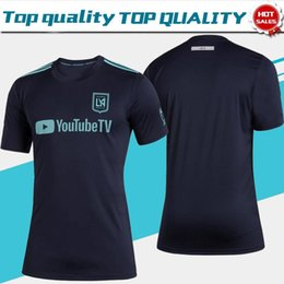 China MLS New 2019 Los Angeles FC Parley Soccer Jersey 19 20 Parley for the Ocean Men Soccer Shirt Customized # 10 VELA uniform Sales size S-2XL cheap men uniform for sale suppliers