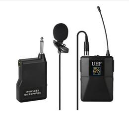 $enCountryForm.capitalKeyWord Australia - UHF Wireless Lavalier Lapel U8 Microphone System with Bodypack Transmitter Mini XLR Female Lapel Mic and Portable Receiver1 4 Inch Output