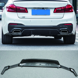 $enCountryForm.capitalKeyWord Australia - 3-D Style Carbon fiber Rear Bumper Lip Diffuser Fit For BMW 5-Series G30 G38