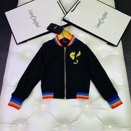 $enCountryForm.capitalKeyWord Australia - Kids Designer Clothing New Boys Jacket Eye Pattern Design Fashion Leisure Jacket Designer Clothes