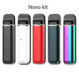 $enCountryForm.capitalKeyWord NZ - Fashion Novo Pod Starter Kit 450mAh Portable Vape E Cig Kit with 2ml Empty Cartridge IN STOCK