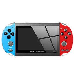 Music gaMes children online shopping - 4 quot GBA Handheld Game Console X7 Video Game Player Free Retro Games LCD Display Game Player for Children