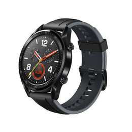 android smart watch nfc Australia - Original Huawei Watch GT Smart Watch Support GPS NFC Heart Rate Monitor Waterproof Wristwatch Sports Tracker Bracelet For Android iPhone iOS