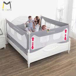 Discount safety gates - Baby Bed Fence Home Kids playpen Safety Gate Products child Care Barrier for beds Crib Rails Security Fencing Children G