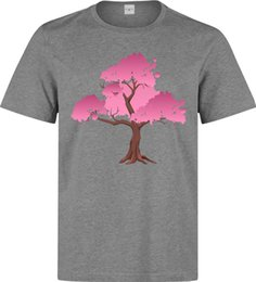 $enCountryForm.capitalKeyWord UK - Japanese Cherry Blossom Pink Artwork Men's (woman's available) grey t shirt top Funny free shipping Unisex Casual Tshirt top