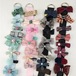 wholesaler baby suits Australia - 8 PCS Cute Girls All-Inclusive Hairpin Side Clip Baby Small Headdress Suit Infant Kids Headband Children Turban Hair Accessories
