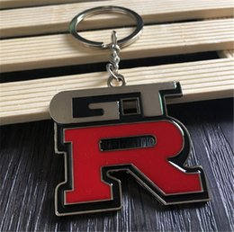Car Logos For Sale Australia - GTR Keychain Creative Car LOGO Keychain Alloy Chain Fashion Designer Keychain Personality Gifts Mini 5 Pieces for Sale Wholesale