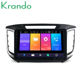 Digital auDio transmitter online shopping - Krando Android quot IPS Full touch car Multmedia system for HYUNDAI IX25 CRETA audio player gps navigation system car dvd