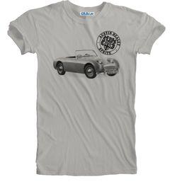 ecaa878c6 Austin Healey Sprite Classic Retro Vintage Sports Car Print Sizes S to 5XL  PlusFunny free shipping Unisex Casual Tshirt top
