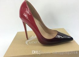 $enCountryForm.capitalKeyWord Australia - overseas2019 Wholesaleand Retail Lady Sexy Red Bottom Heels Pointed Toe Office Party Shoe Stiletto Pump Leather