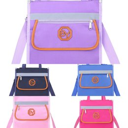 school bag train Canada - Audrey primary school student tutorial School kindergarten printing training class crossbody bag tutorial bag