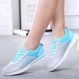 $enCountryForm.capitalKeyWord Australia - Women Shoes Soft Bottom Sneakers Women Breathable Mesh Vulcanized Shoes For Basket Femme 2019 New Krasovki Casual