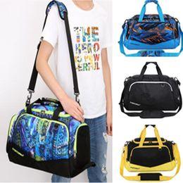 NyloN sport tote bag online shopping - U A Sports Hand Bag Tote Travelling Bags Large Capacity Luggage Bag Women Men Nylon Waterproof Excerise Training GYM Duffle Bag New B71301