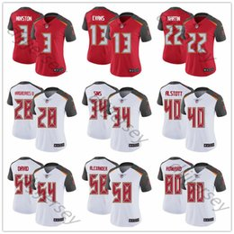 2c175f4861a Custom Tampa Bay Men's Buccaneers Mike Evans Jameis Winston Derrick Brooks  45 White Women Youth Vapor Untouchable Limited Football Jersey