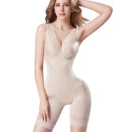 Wholesale plus size shapewear for sale - Group buy ZYSK Women Slimming Shapewear Tummy Control Body Shaper Hook Waist Bodysuits Seamless Underwear Firm Waist Trainer Plus Size XL