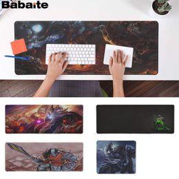 Free Pc Keyboard Mouse Australia - Babaite Non Slip PC Dota 2 hero Rubber PC Computer Gaming mousepad Free Shipping Large Mouse Pad Keyboards Mat