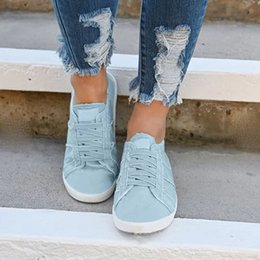 $enCountryForm.capitalKeyWord Australia - Women Shoes Espadrilles Canvas Blue Footwear Simple Classic Comfort Casual Ladies Shoes Zapatos De Mujer De Moda 2019