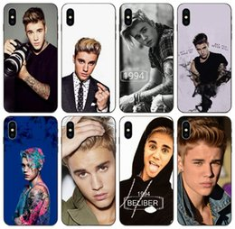 galaxy paintings Canada - [TongTrade] Unique Fashion Justin Bieber Painted Case For iPhone 11 Pro Max X XS XR 8s 7s 6s 5s Plus Galaxy S10 A10E A10S Huawei P30 P9 Case