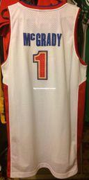 $enCountryForm.capitalKeyWord NZ - Cheap wholesale Tracy McGrady 2005 Jersey Men RB Sewn #1 TMac Yao T-shirt vest Stitched Basketball jerseys Ncaa