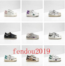 Italy women shoes brands online shopping - Italy Deluxe Brand Multicolor Heel Golden Superstar Goose Designer Sneakers Men Women Classic White Do old Dirty Shoes Casual Shoes