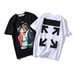 d9b16d501790 Mens Designer t shirt High Quality Print Character T Shirts Luxury Couples  TShirt Urban Business Men TShirts Premium Cotton Sport Womens tee