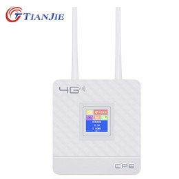Wholesale 4g let wifi router sim wireless sharing WCDMA wireless router hotspot 4g modem lte router wireless vpn CPE903