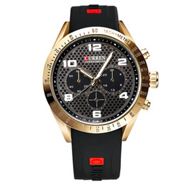 Discount watch water digital - Design Men Casual Sports Watches Young Vogue Mens Analog Quartz Watches New Man Digital Wristwatches Clock Relogio Mascu