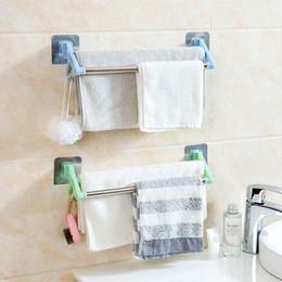 $enCountryForm.capitalKeyWord Australia - wholesale Bathroom Towels Storage Rack Kitchen Tools Organizer Key Hooks Dishcloth Holder Cupboard Wardrobe Clothes Coat