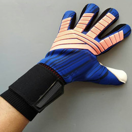 $enCountryForm.capitalKeyWord Canada - Professional goalkeeper gloves without Finger Protection rods soccer Thickened Latex football Gloves De Futebol Goalie Gloves